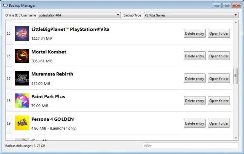 Playstation content Manager assistant download - QCMA