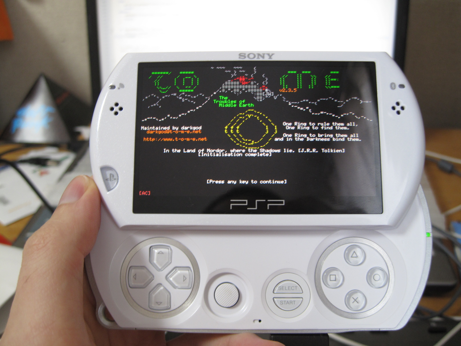 HBL Update: T.O.M.E. Patch For The PSP Go With HBL Revision 50