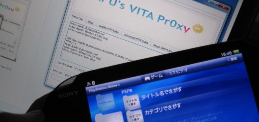Vita pr0xy in action