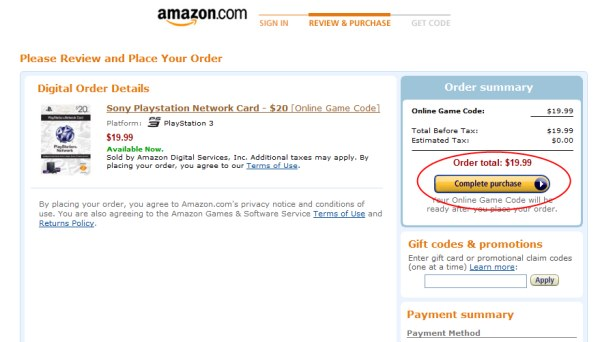 us psn cards buy on amazon