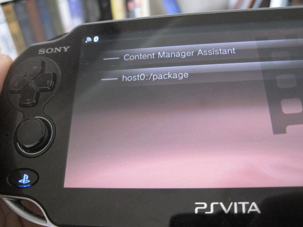 PS Vita: Installing the Package Installer on firmware 3 60 - Wololo net