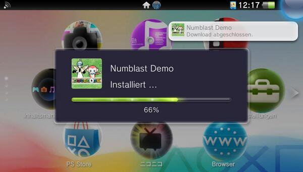 numblast demo install