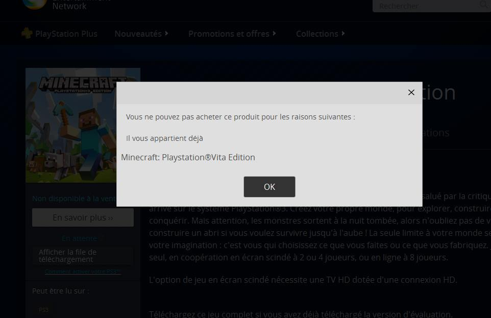 Can you get Minecraft for free? PSN glitch allegedly lets gamers