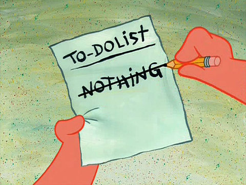 to-do-list nothing