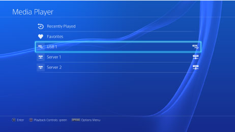 PS4 Media Player - The PS4 can finally play your videos