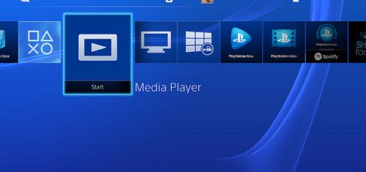 ps4 media player - play