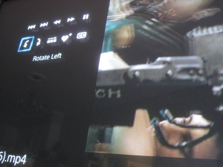 ps4 media player rotate