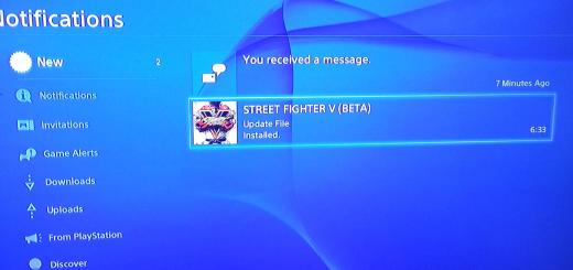 Street Fighter 5 beta Update