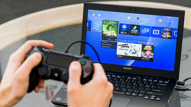 Screenshot from the official Remote Play PC client