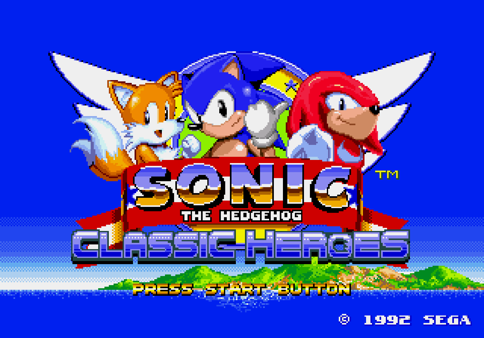 Games you can play on your Vita: Sonic Classic Heroes - Wololo net