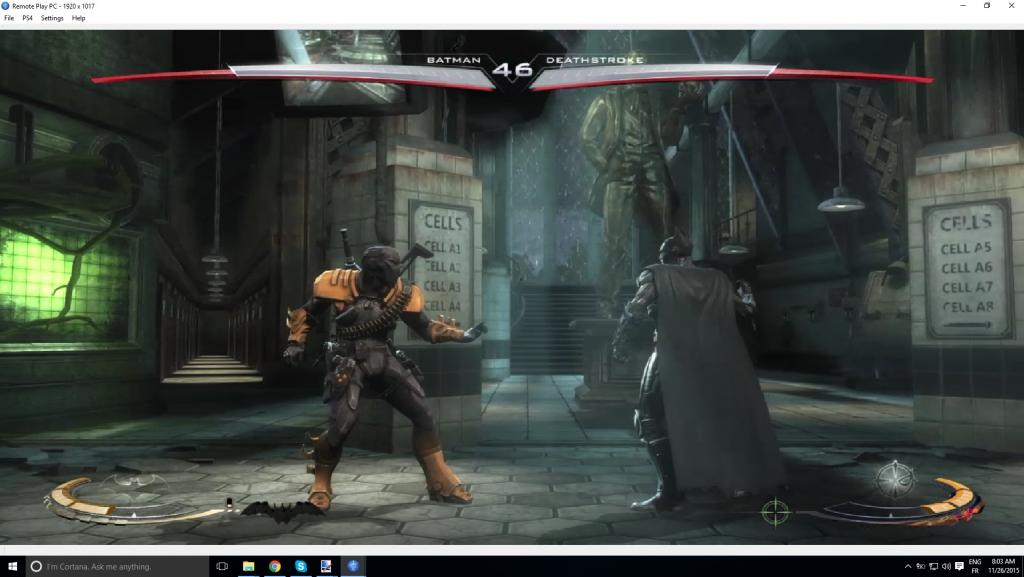 Remote Play PC Inustice
