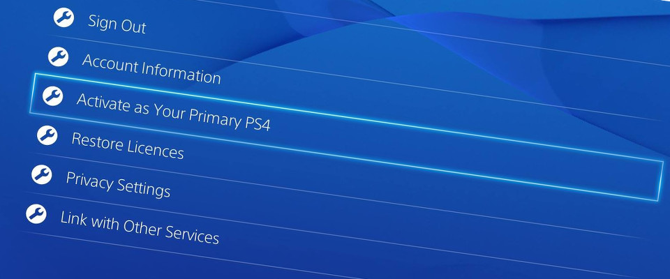 PS4 Game sharing - Activate friend's console as your primary console