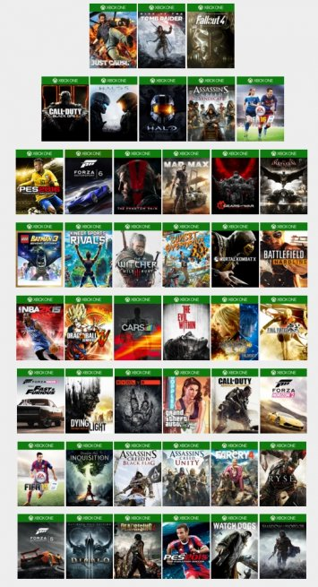 xbox one hack available games