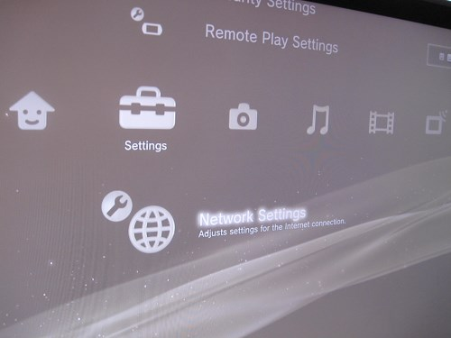 PS3 Network Settings