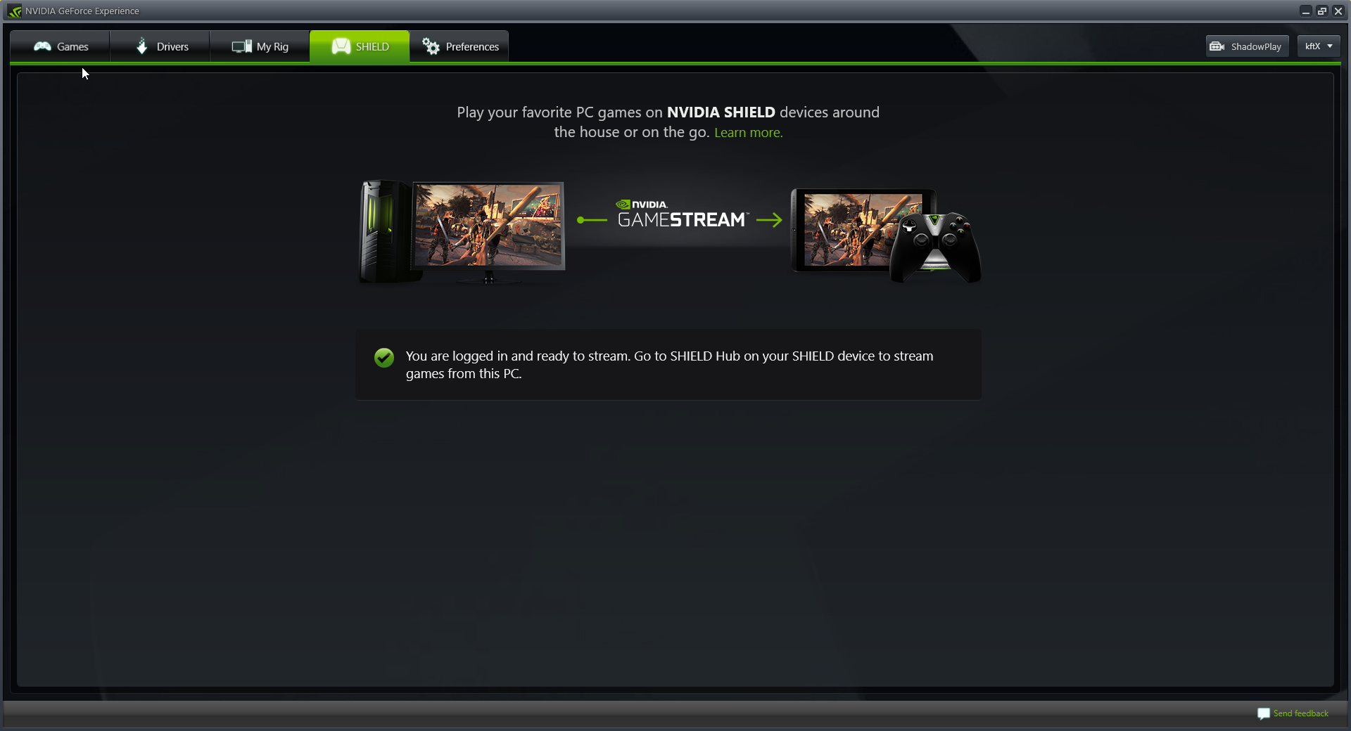 nvidia gamestream unable to connect