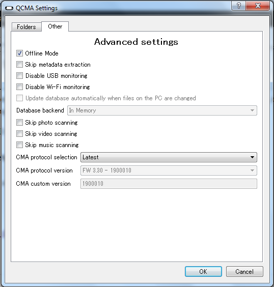 QCMA 0 4 1 released, fixes a critical bug with folder