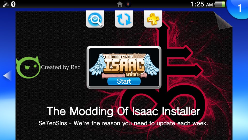 The Modding of Isaac Installer - Manage and install your BoI mods