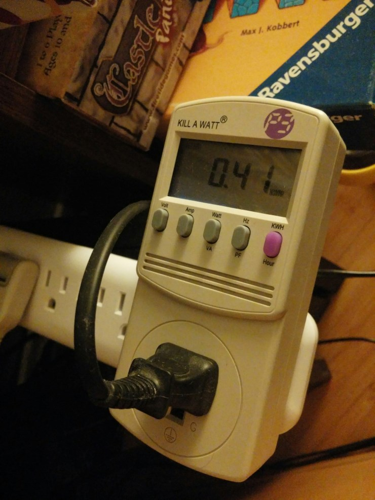 The Kill-A-Watt, a cheap way to detect and kill electricity waste