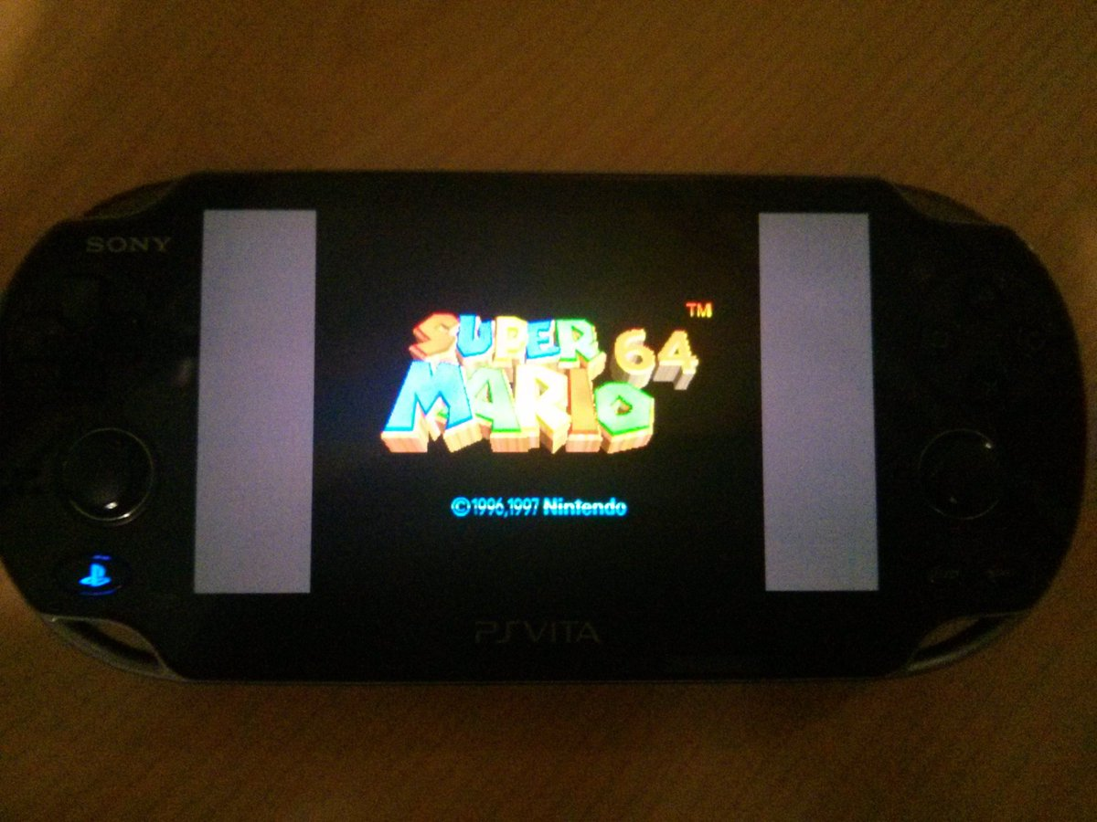 N64 Emulator For The Vita In Development