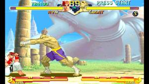 Street Fighter Alpha 2 in FBA