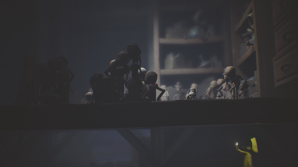 Little Nightmares PS4 review Sneaking around the toy shop