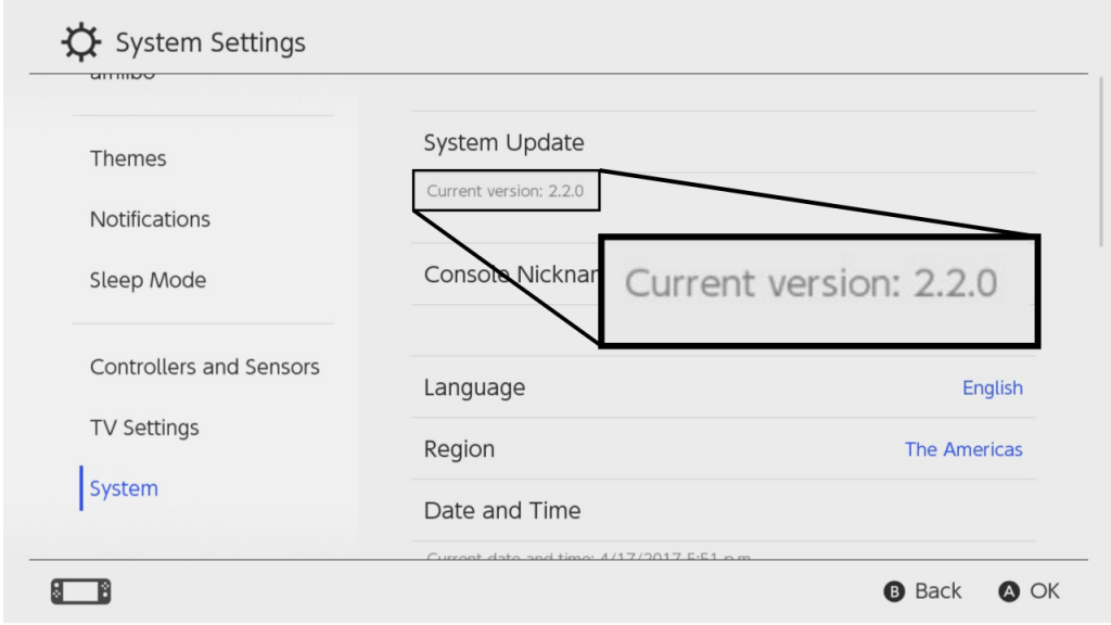 Nintendo Switch firmware 2 2 0 released - Wololo net