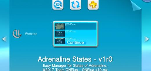 Adrenaline States Manager