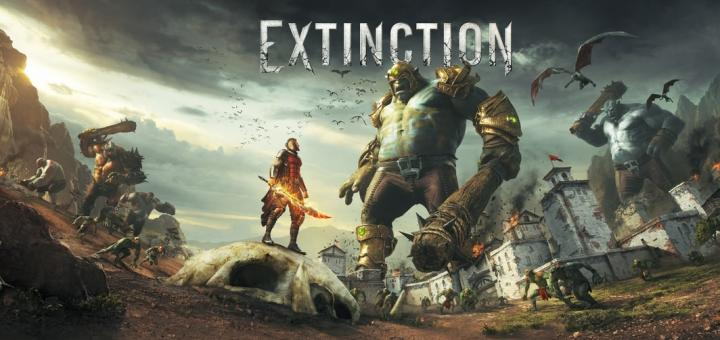 Extinction New IP for PS4, Xbox One, PC