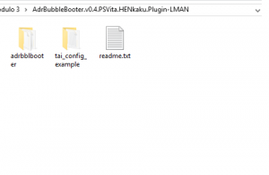 Contents of the rar file downloaded from Leecherman's site.