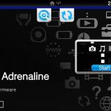 Adrenaline Easy Installer Black Edition Theme