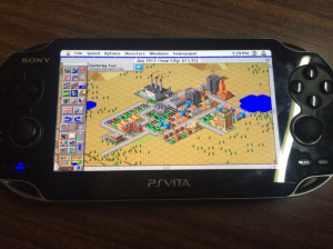 Simcity 2000 on the Vita - Basilisk II
