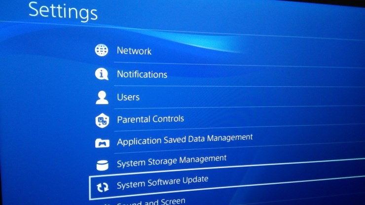 download ps4 update 5.05 wont