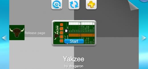 Yakzee - A Yahtzee game for the PSVita released!