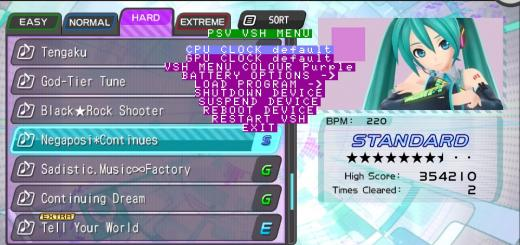 PSV VSH Menu updated to version 2.0!