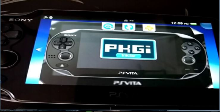 PS Vita release: pkgi unofficial fork