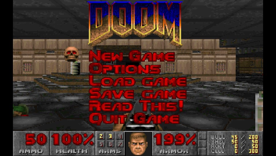 Chocolate Doom ported to the PSVita - The Vita finally gets a good