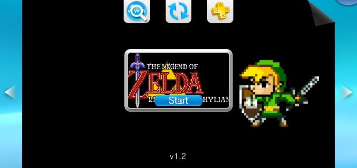 PSVita Zelda games updated with various features including VitaGL!