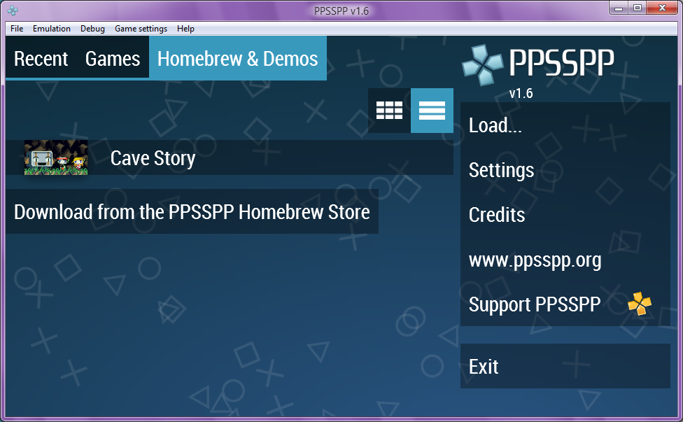 PPSSPP updated to version 1 6 - OpenGL and Vulkan backends