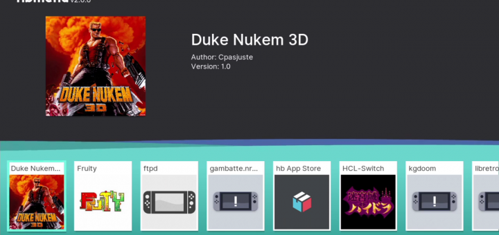Duke Nukem 3D ported to the Switch!