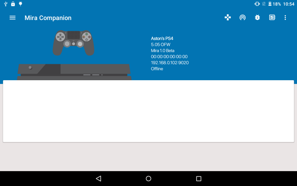 PS4 Hack: Project Mira ported to firmware 4 55, Android