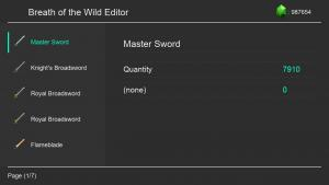 Switch Save editing: Breath of the Wild editor and more!
