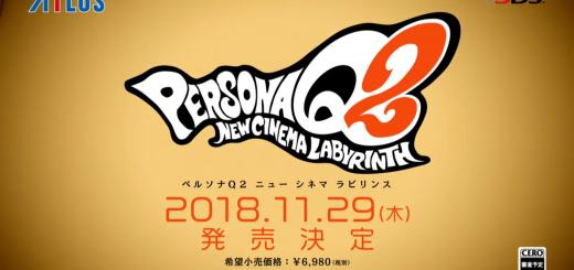 Persona Q2 : New Cinema Labyrinth teased