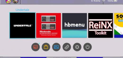 "Custom Themes is now a thing on the Switch - Theme by ""Kohi (dm 4 private requests)"""