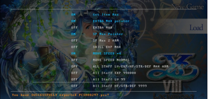 New VitaCheat Database and 'The Warriors' dual analogue stick plugin released for the PSVita!