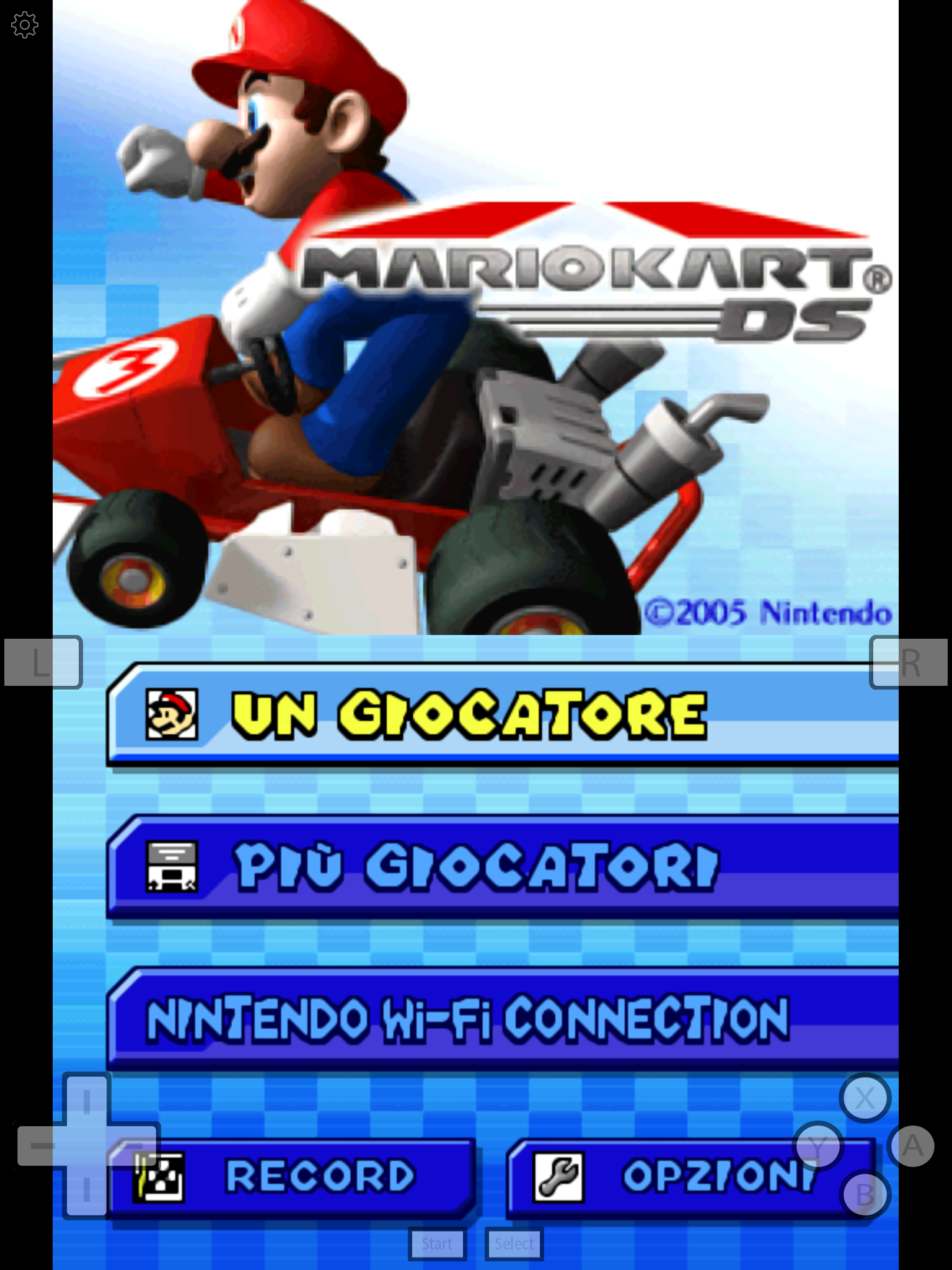 mario kart nintendo ds emulator download