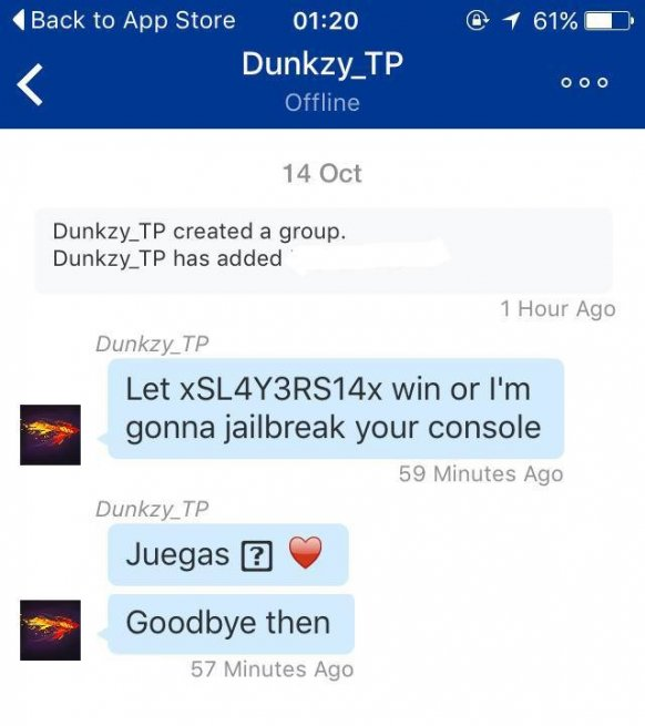 PS4 glitch in messaging allegedly crashes the console
