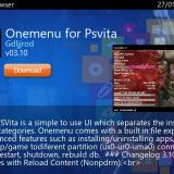 Modded Vita Homebrew Browser with Wiki Homebrew Vita as its source released!
