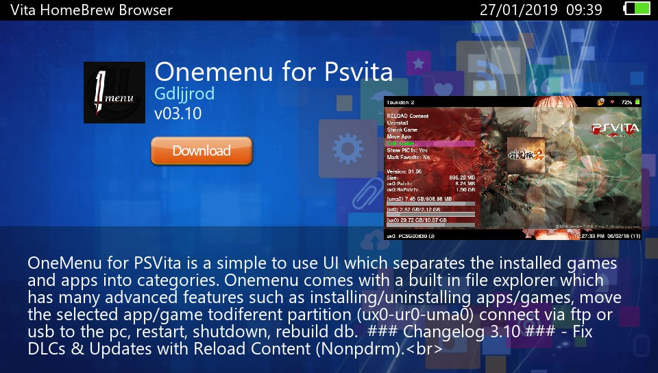 Modded Vita Homebrew Browser (VHBB) released that uses Wiki