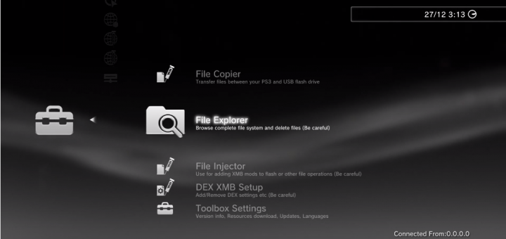 PS3 FW 4.84 update releases: SEN Enabler 6.2.2, HAN Toolbox 0.7, Control Fan Utility, IrisMAN and more!
