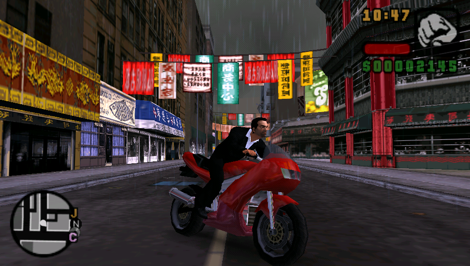 TheFlow making progress with running the PSP's Grand Theft